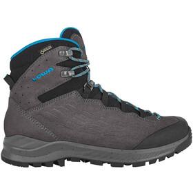 Lowa Explrr GTX Chaussures de trekking mi-hautes Femme, anthracite/turquoise